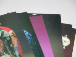 画像3: 辻村ジュサブロー人形展「満漢全飾」ポストカード7枚/袋付