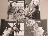 加藤剛 平幹二朗ほか「花の生涯」日本テレビ版 番宣用スチール写真4枚一括