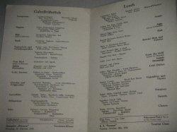 画像2: 1938年レストランメニュー「MARIENBURG」ドイツ戦前