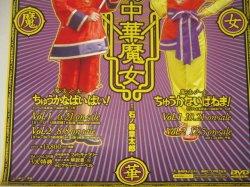 画像3: 小沢なつき 島崎和歌子「魔法少女ちゅうかなぱいぱい!/ちゅうかないぱねま!」DVD販促ポスター