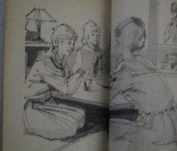 画像4: 上田平雄・作  中沢潮・挿絵「青い砂丘」美しい十代 昭和40年12月号付録/表紙・小林裕