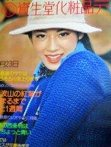 資生堂化粧品デー「日本の秋が好き」B1サイズ ポスター/検;企業広告 駅貼り 宣伝コマーシャル