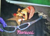 FIORUCCI フィオルッチ metalflex 金髪モデル ファッション広告 ポスター/検;デザイン アドワーク コピーライター 宣伝 海外ブランド